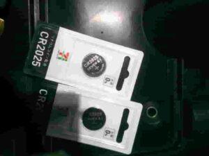 エンジンスターターリモコン電池CR2025