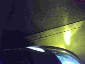 ベロフ発光時下側
