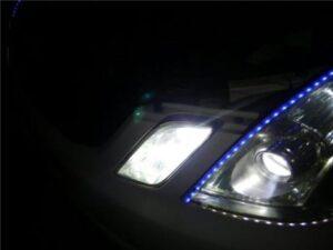 ベロフLEDヘッドランプフォースレイ右点灯