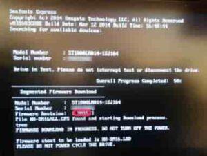 HDDファームウェアのアップデートCDブート