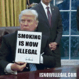 トランプ大統領が大統領令発令した雰囲気