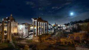 Windowsスポットライトイタリアローマにあるフォロロマーノ遺跡