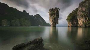 タイのマレー半島にあるピンカン島