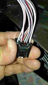 エクストレイルリバース連動自動ドアミラー下降装置上昇配線