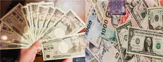お金アメリカ米ドルと日本円変換