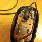 マウス分解清掃前
