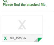 BILLというウイルス付き迷惑メール